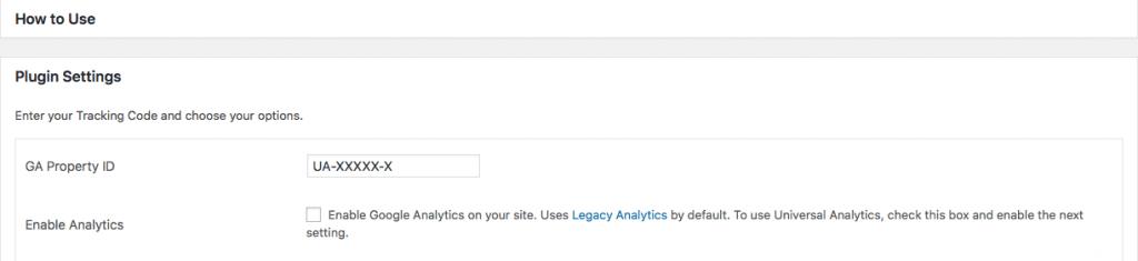 agregar google analytics a wordpress