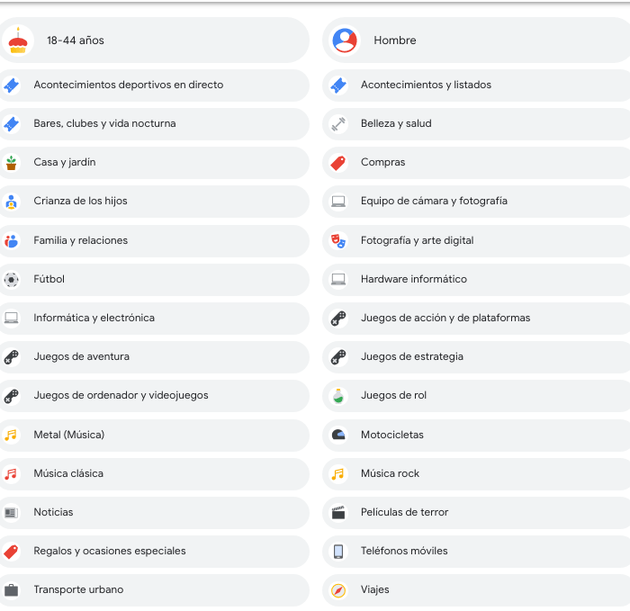 Quitar anuncios en Google